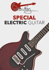 Brian May Special Elgitarr, 'Antique Cherry'
