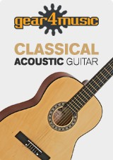 3/4 Classical Guitar, Natural, by Gear4music