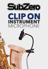 SubZero Clip-on Instrument mikrofoner