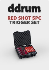 DDrum Red Shot 5pc Trigger Set