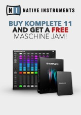 Native Instruments Maschine Jam och Komplete 11