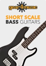 Gear4music Short Scale-basgitarrer