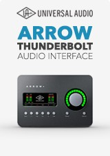 Universal Audio Arrow Thunderbolt-ljudkort