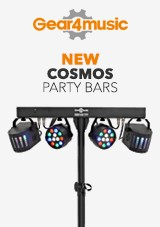 gear4music NYA Cosmos Party Bars