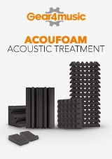 gear4music AcouFoam Akustisk Behandling
